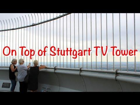 On Top of Stuttgart TV Tower | JoyDellavita Travelblog
