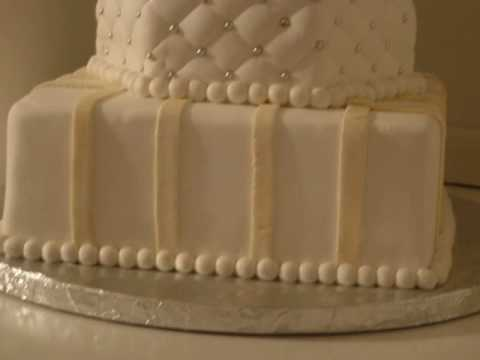why is wedding cake tiered wilton course3 tiered wedding cake my 4th fondant 27472