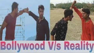 BOLLYWOOD VS REALITY  (PART 7)    MOVIES SCENES VS REAL LIFE FUNNY VIDEO    R.B.M. CREATION SISWALI