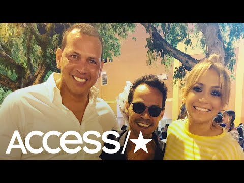 Jennifer Lopez, Alex Rodriguez & Marc Anthony Spend Family Time At Their Daughters' Dance Recital