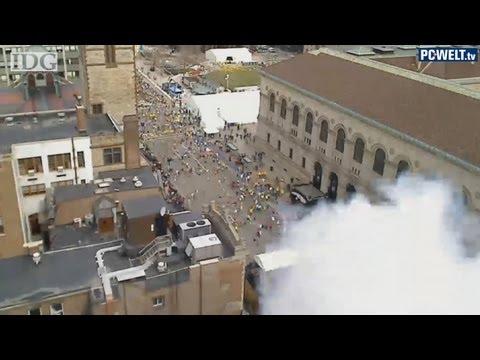Anschlag auf Boston-Marathon von IDG-Webcam zufällig gefilmt