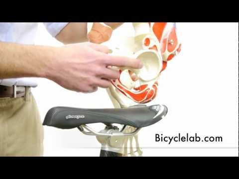 Bicycle Saddle first video in series about seat comfort for cyclists