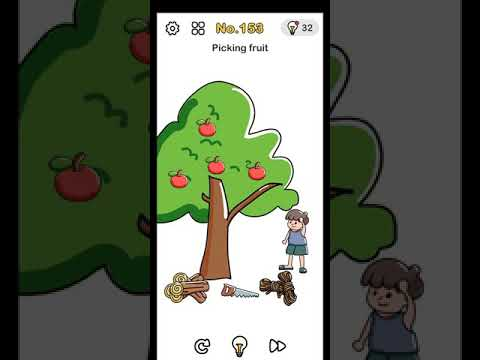 Brain Out Level 153 Picking Fruit Walkthrough And Solution Youtube
