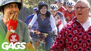 Best of Bike Pranks | Just For Laughs Compilation