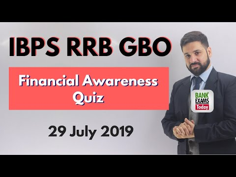 IBPS RRB GBO - Financial Awareness Quiz (Part 7)