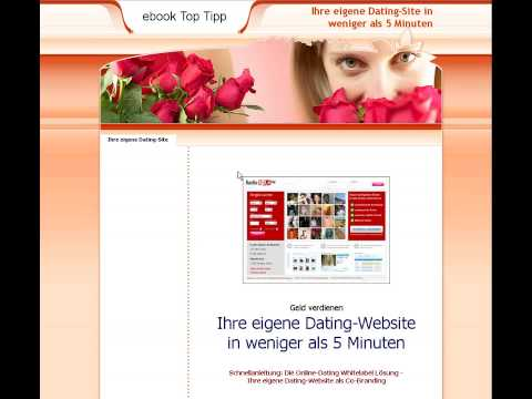 Ihre eigene Dating-Website in weniger als 5 Minuten | ebook-site.de