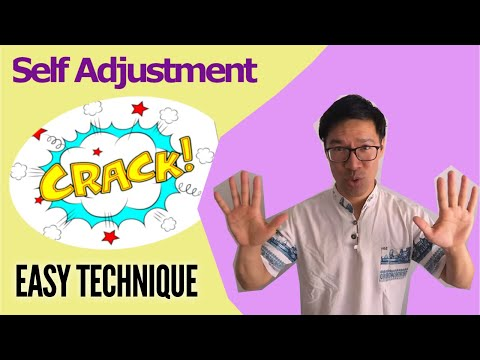 How to Back Crack Your Thoracic Spine ( Loud Upper Back Pop )