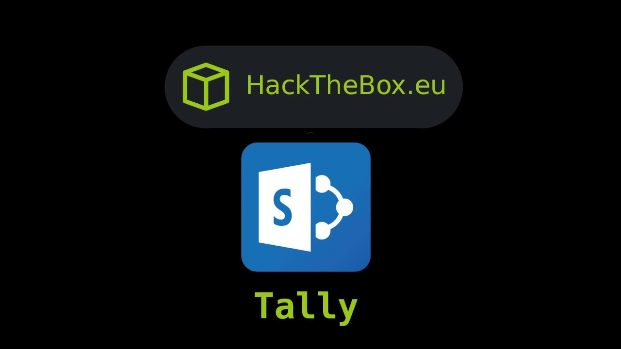 HackTheBox - Tally