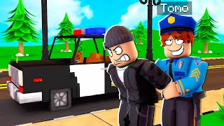 Playing ROBLOX RP As A POLICE OFFICER..