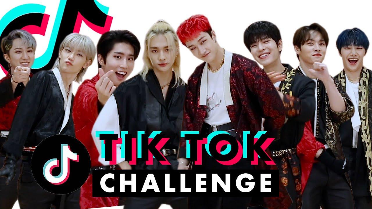 K Pop Boy Band Stray Kids Is Way Too Good At Tiktok Tiktok Challenge Challenge