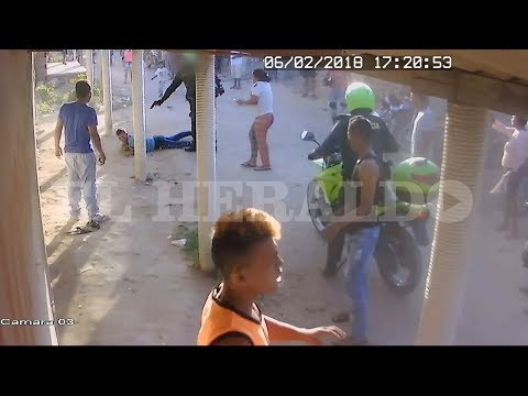 Policía mató a quemarropa a joven en Palermo