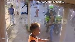 Polica mat a quemarropa a joven en Palermo