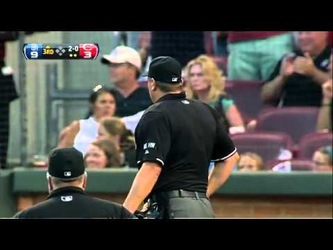2012/07/30 Mesoraco's ejection