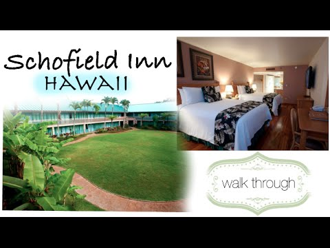 Schofield Inn Tour | Hawaii Life Begins :) (4:13)