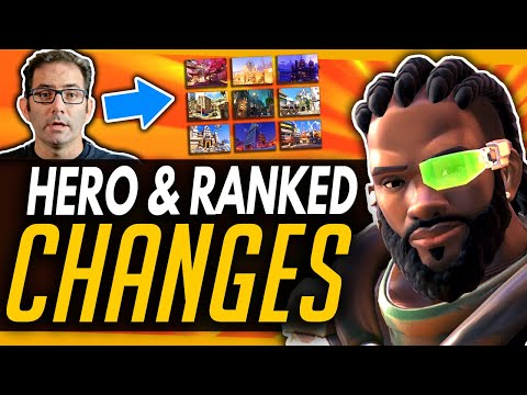 Overwatch   Big Season 19 Changes - Baptiste BUFF & New Map Pool System