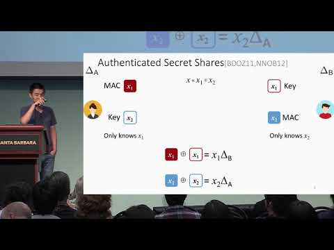 Optimizing Authenticated Garbling for Faster Secure Two Party Computation