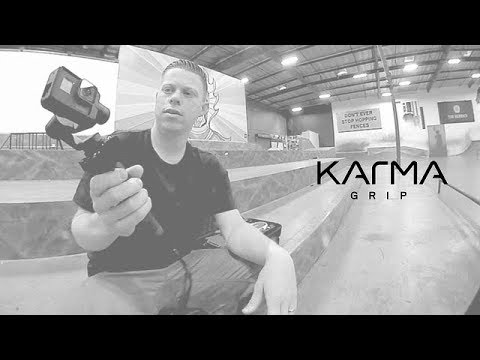how to put gopro in karma grip