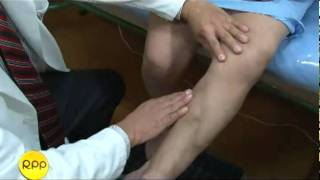 ¿Dolores en las piernas? Várices(El doctor Eber Cataño, flebólogo especialista explicó que actualmente, las várices aparecen a cualquier edad, pero reconoció que en la gran mayoría de casos ..., 2011-08-04T16:49:27.000Z)