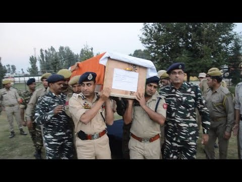 Tribute Paid To Martyr Mohd Yaqoob Shah At Pulwama