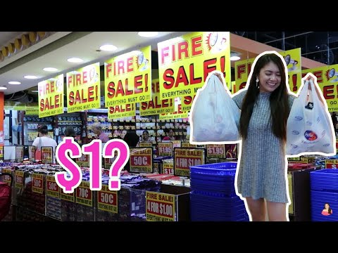 $1 CHOCOLATE IN SINGAPORE | WHAT'S INSIDE VALUE DOLLAR SHOP? | PASALUBONG SHOPPING! | Lenaira Odviar