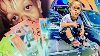 """Kid """"Scams"""" Celebrities for $500,000"""