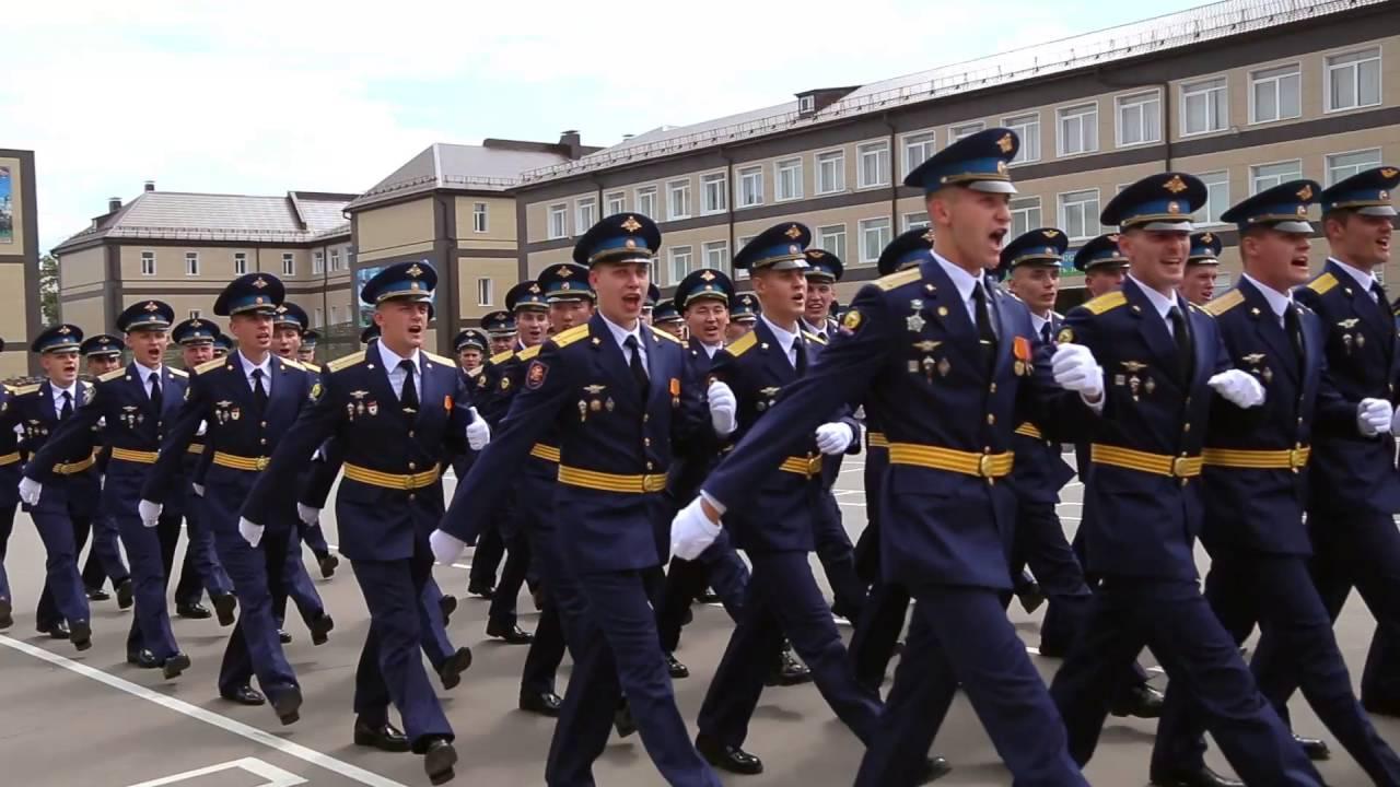 8996cb32fd3e Рязанское высшее воздушно-десантное командное училище. Выпуск 2016 - YouTube