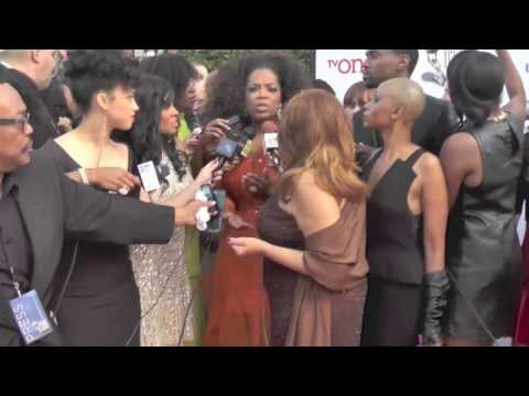 WATCH: Oprah Spotted on The Red Carpet at NAACP Images Awards