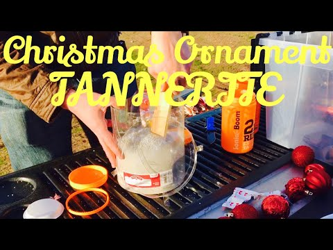 Exploding Christmas Ornaments With Tannerite!