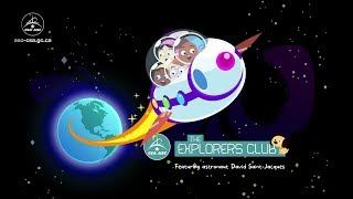 Official release of The Explorers Club, a space-themed e-book