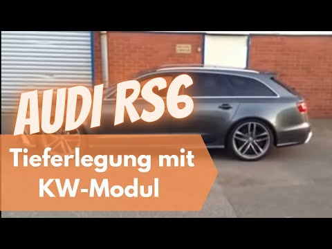 Tieferlegen Audi Rs6 Youtube