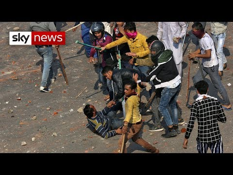 India: Delhi's religion riots leave 38 dead