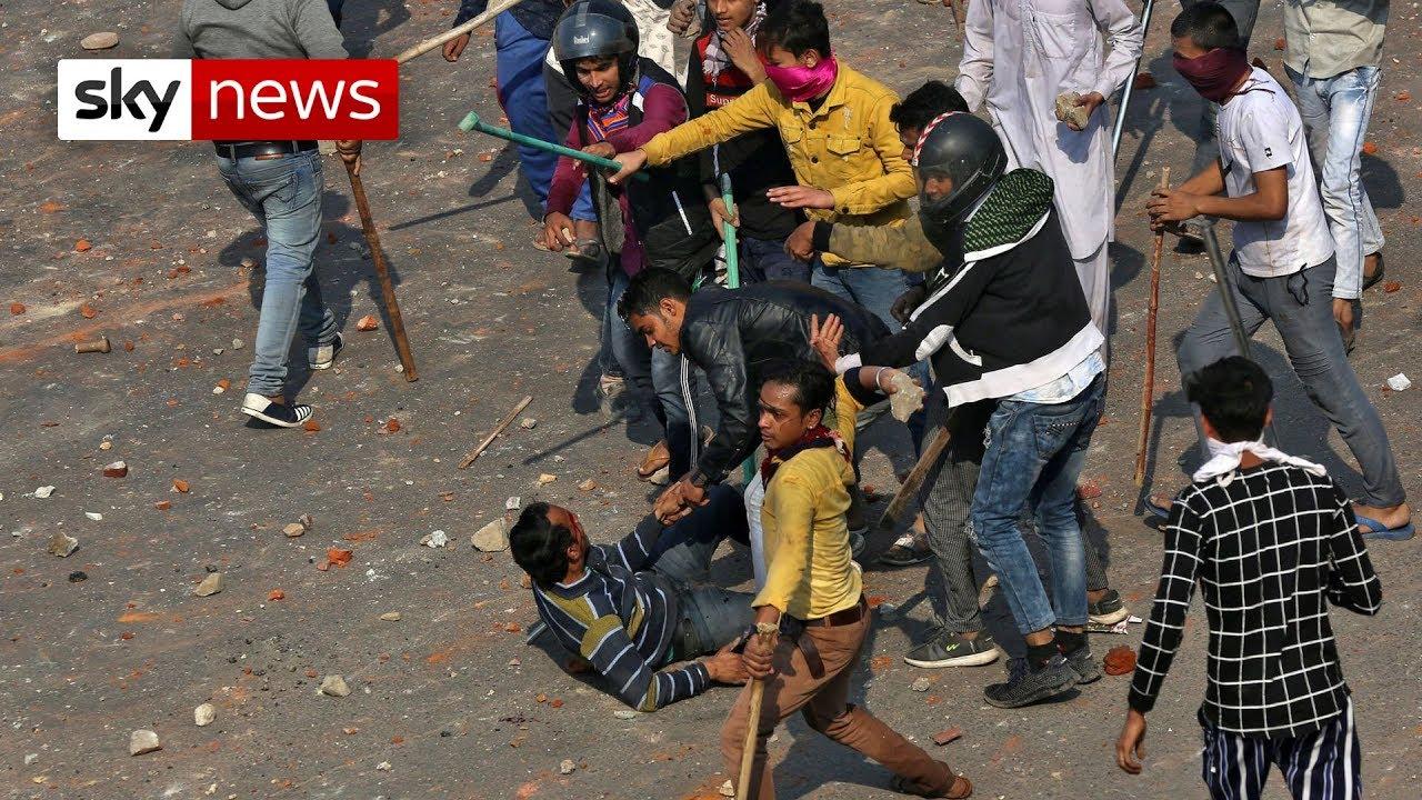 India: Delhi's religion riots leave 38 dead