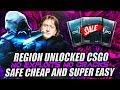 REGION FREE CSGO ACCOUNTS FOR $4 NEW 2018 METHOD FOR CHEAP CSGO [BEST SAFE METHOD]