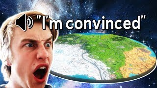 I convinced people the Earth is FLAT in Fortnite
