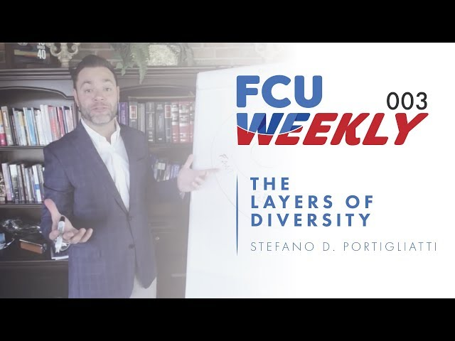 The Layers of Diversity (ft. Stefano D. Portigliatti) [ FCU Weekly Ep. 003]