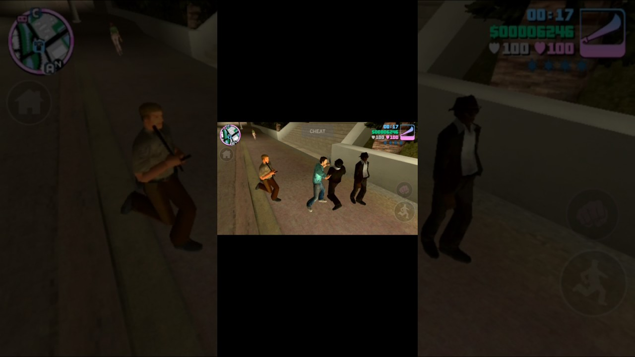 Gta vice city with cheat Android gameplay in