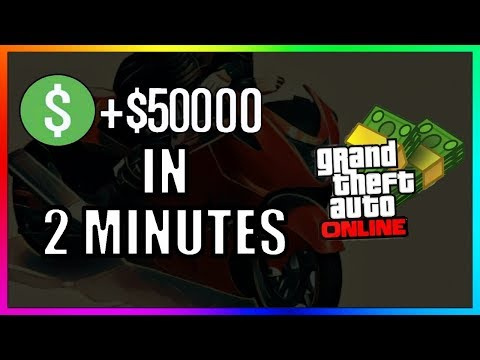 *NEW* HOW TO MAKE $50,000 IN 2 MINUTES SOLO! - GTA ONLINE FAST & EASY MONEY GUIDE 1.46 (GTA V Money)