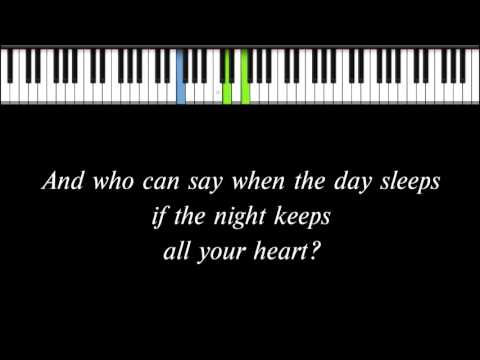 Enya - Only Time (solo piano arrangement)
