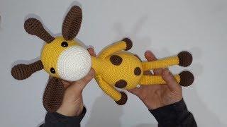 Amigurumi zürafa yapımı Amigurumi zürafa tanıtımı yapılması -01