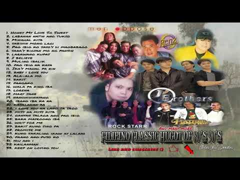 Pinoy Classic Hugot of 80's 90's   Nonstop Classic Hugot Love Song 80's 90's HQ