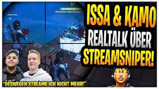 Issa & Kamolrf REALTALK über Streamsniper😡 | Standart Skill Rage! | Fortnite Highlights Deutsch