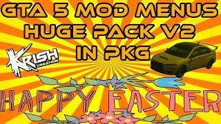 🍫Happy Easters🎉New Release Huge Pack V2 🎮GTA 5 Mod Menus PKG + 📁Download