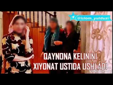 Qaynona kelinini xiyonat ustida ushladi           ::::Ustoz Shukurulloh Qori
