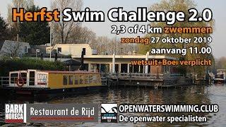 Herfst Swim Challenge 2.0 Bark Horeca  Nieuwe Niedorp 2019