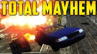 TOTAL MAYHEM! (H1Z1 Auto Royale)