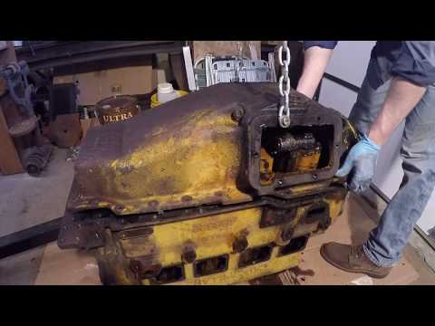 Caterpillar D2 #5J1113 Diesel Engine Disassembly - Day 2