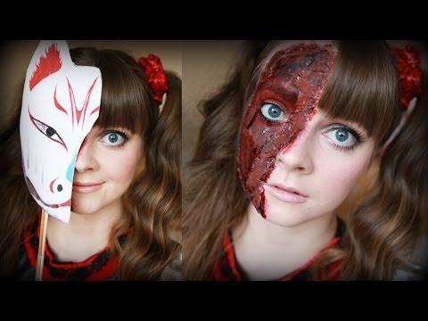 BABYMETAL Kitsune Flesh Mask Tutorial | CallieSakura