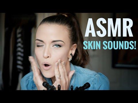ASMR Gina Carla 🤲🏽 Let Me Touch You Asleep! Soft Skin Sounds!