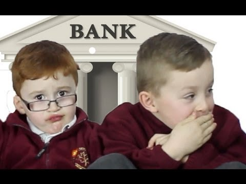 Kids give advice on How To Rob A Bank!!