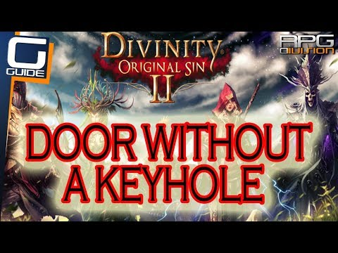 DIVINITY ORIGINAL SIN 2 - How to open Door without a keyhole in Ryker's Mansion